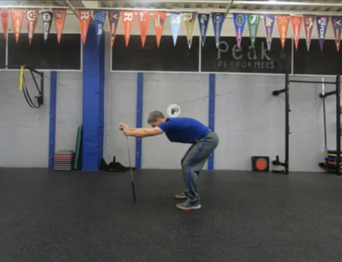 Four Simple Golf Fitness Exercises with a Golf Club